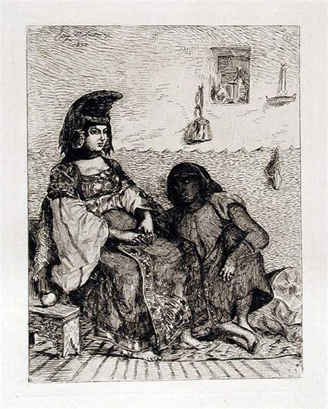 Sketches D Algerie by Juive D Alger Eugene Delacroix