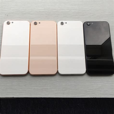 Casing Kesing Housing Iphone 6s Plus Model Iphone X cheap for iphone 6 6p 6s 6sp 7 7p plus back housing cover like iphone 8 style metal glass
