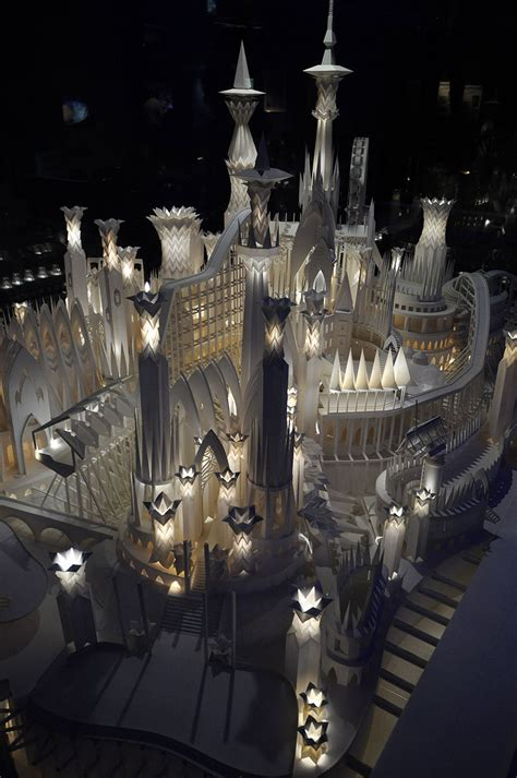 Paper Craft Castle - a paper craft castle on the tokyobling s