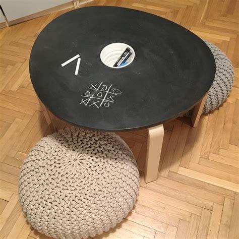 mommo design ikea hacks  kids chalkboard table  svalsta coffee table mobiliario baby