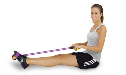 Tummy Rower evertone rowing abs groupon goods