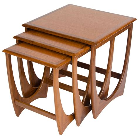 Nesting Coffee Tables Nest Of G Plan Coffee Tables At 1stdibs