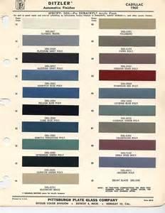 cadillac colors 1960 cadillac colors classic cars cadillac