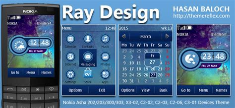 live themes for asha 200 ray design themereflex