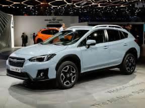 Subaru Xv Crosstrek 2018 Subaru Xv Crosstrek Makes Geneva Debut Kelley Blue Book