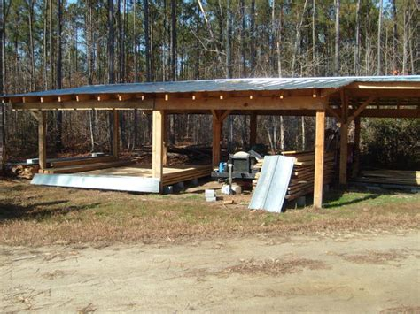 Building A Tractor Shed by Shed Yesterday S Tractors