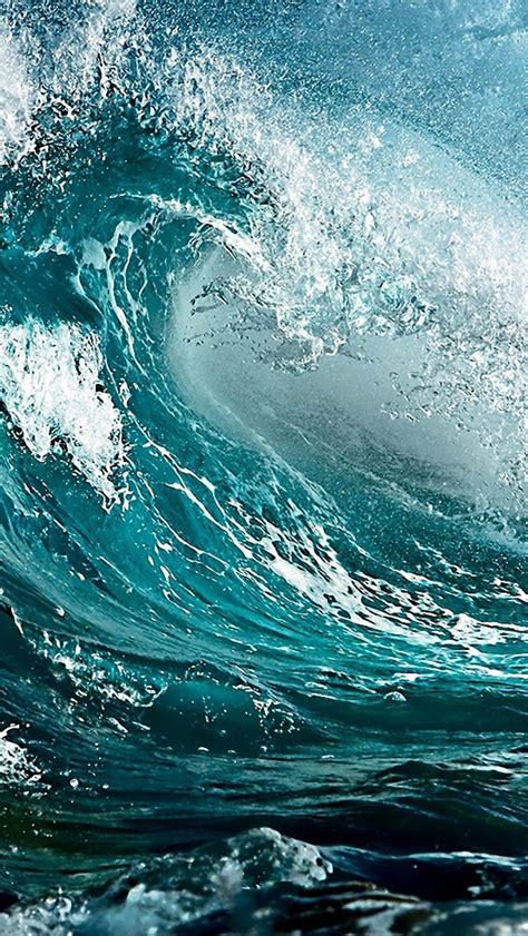 ocean wave iphone wallpaper wallpapersafari