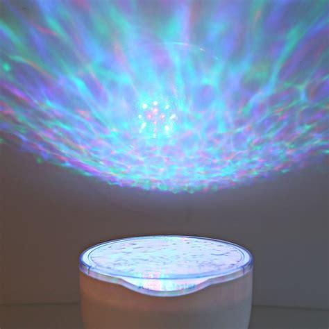 pet night light projector laser projector wave projector ocean rgb l with speaker