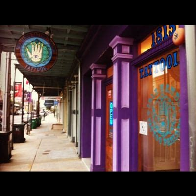 Tattoo Shops Near Me In New Orleans | idle hands tattoo parlour tattoo lower garden district