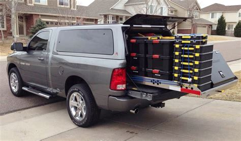 slide out truck bed storage truck bed slide out cargo tray for pickup trucks work