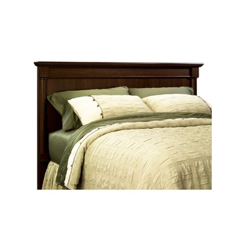 cherry headboard queen full queen panel headboard in cherry 411840