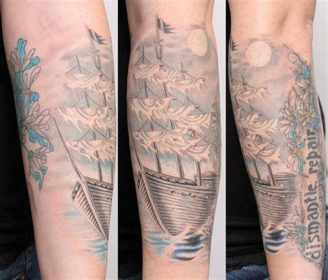 ghost ship tattoo quot ghost ship quot by talo by rob talo tattoonow
