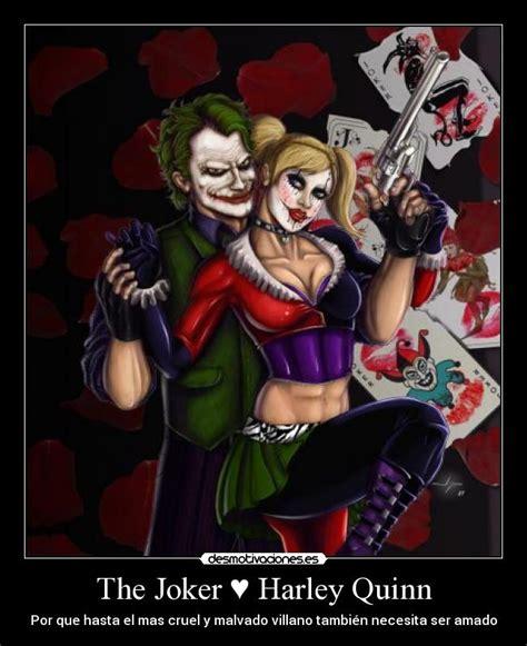 imagenes joker y harley quinn con frases the joker harley quinn desmotivaciones