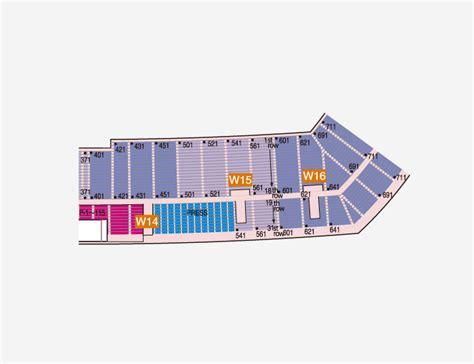 Floor Plans Com Seat Plan Nissan Stadium