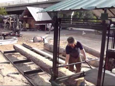 homemade swing blade sawmill home made swing blade sawmill how to make do everything