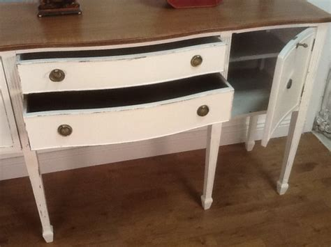 shabby chic restored six legged hall table sideboard in