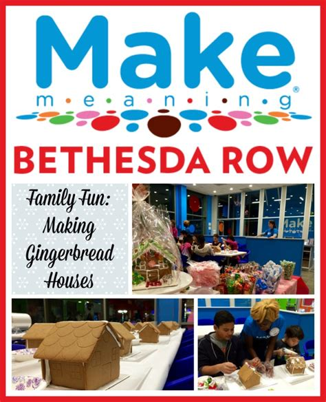 Sweater Bethesda Studios family gingerbread house decorating at make meaning