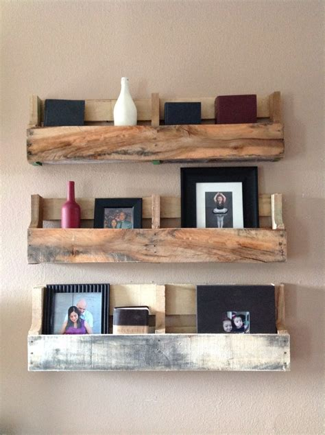 Palette Shelf reclaimed pallet shelves set of 3 by delhutsondesigns on etsy