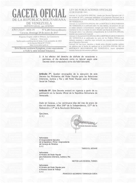 decreto aumento a los maestros 2016 decreto de aumento salarial 2016 gaceta oficial y decreto
