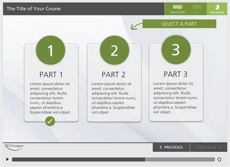 storyline template green elearning locker templates