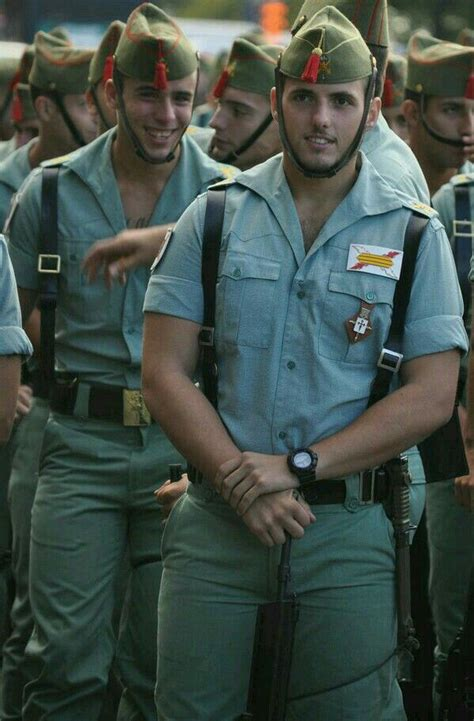 Spanish Legion Men In Uniform Military Men Muscular Men