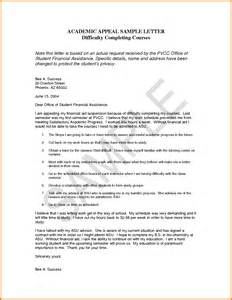 Financial Aid Cancellation Letter University Of Phoenix 5 Examples Of Appeal Letters Appeal Letters Sample