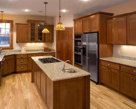 Oak Kitchen Cabinets Home Design Ideas, Pictures, Remodel