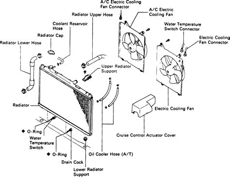 2003 toyota camry radiator fan switch radiator fan controller toyota