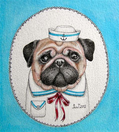 pug sailor sailor pug by iristerwisscha on deviantart
