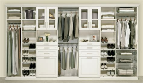 Closet Organizers With Doors Built In Space Saving Cabinetery For Clothes Organizers With Interior Brown Wooden Sliding Doors