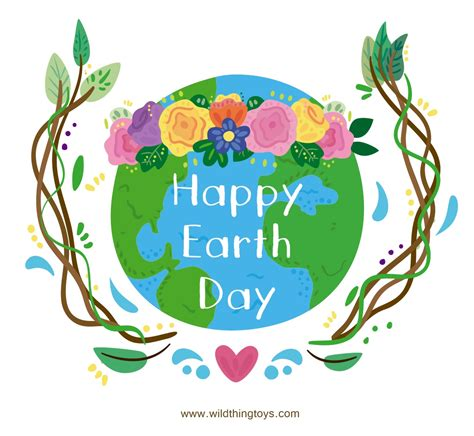 Happy Earth Day by Thing Toys
