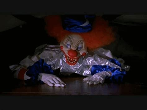 go to bed clown scary clown faces basically anything that tickles my