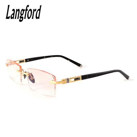 frameless eyeglass frames gold eyeglass frames for