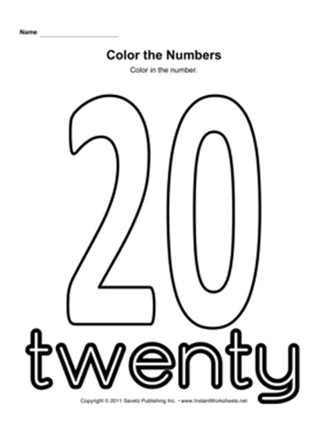 coloring number 19 worksheet coloring pages