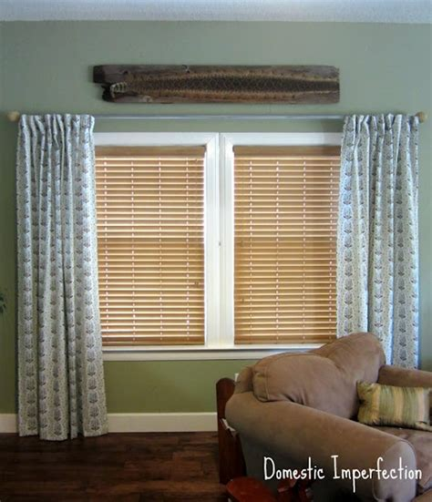 easy way to hem curtains how to make curtains domestic imperfection