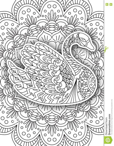 coloring book by nature for adults relaxation don juan s coloring books books printable coloring book page for adults stock vector