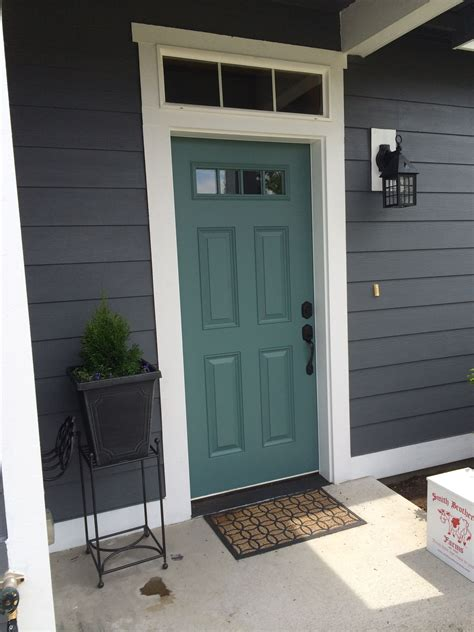 front door colors for gray house top modern bungalow design teal door grey houses and