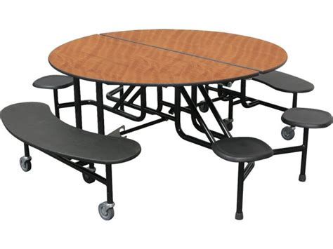 Cafeteria Tables With Stools by Pmh Cafeteria Table Benches And Stools 60 Quot Dia