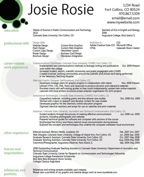 graphic designer career objective graphic design resume the knownledge