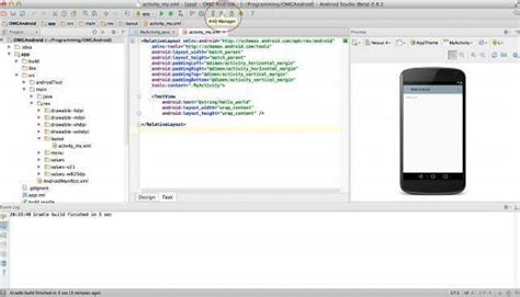 android tutorial in w3schools android studio tutorial for beginners and overview