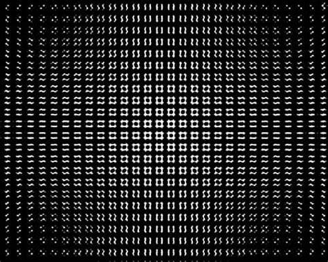 urutan membuat abstrak 14 background hitam putih ilusi optik op art grafis