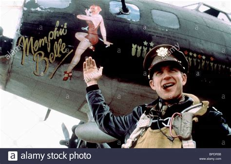 matthew modine war movie matthew modine memphis belle 1990 stock photo royalty