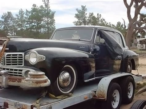 1948 lincoln continental coupe classic coupe 1948 lincoln continental coupe