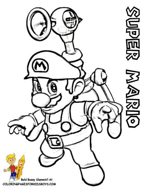 mario bros coloring pages 4u super mario bros pics coloring home
