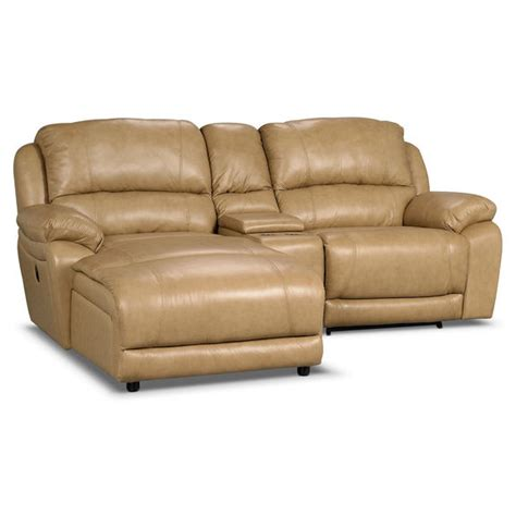 Leather Sectional With Chaise And Recliner by Marco Genuine Leather 3 Sectional With Chaise Power