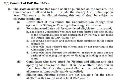 Cap Rounds For Mba Cet 2017 by Cap 4 Learningroots