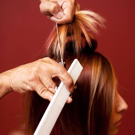 hair that comes to a point best method for cutting layers into dry hair