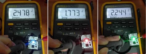 diode mode on multimeter engineering the ndp 2016 led wristband