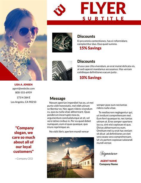 best marketing flyers template creative templat