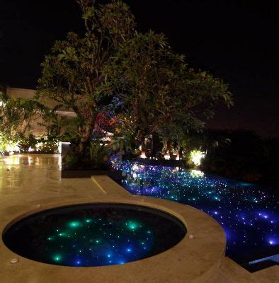 fiber optic pool lighting installation beautiful and we on